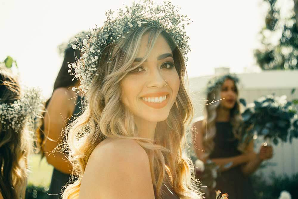 Young-woman-at-her-wedding